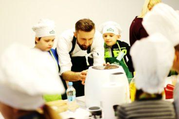 Lekcje ze zdrowego żywienia i Piotr Kucharski w Kupcu