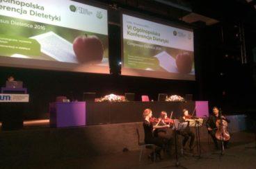 Jak wyleczyć się dietą? Kupiec na VI Ogólnopolskiej Konferencji Dietetyki