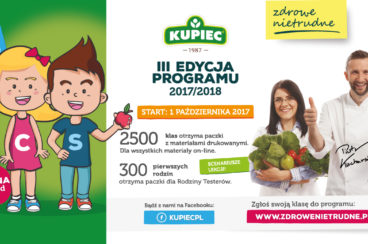 Już 1 października 2017 roku rusza III edycja Zdrowe – Nietrudne!
