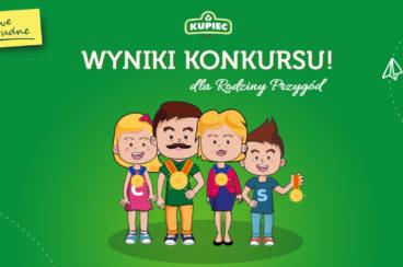 Wyniki konkursu Rodzina Przygód!